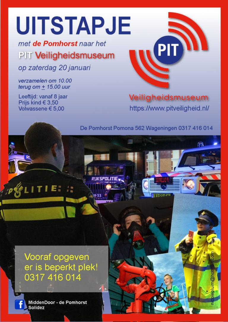 Nicole Pluim Flyer Museumbezoek PIT 2018