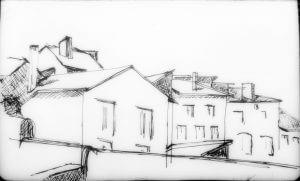 Frankrijk (schets) Nicole Pluim