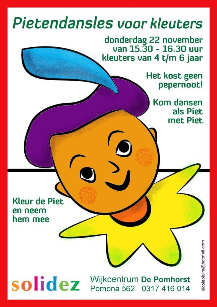 Nicole Pluim Flyer Pietendans 2018