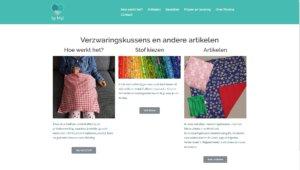 Nicole Pluim webdesign ByMyl verzwaringskussens en andere artikelen