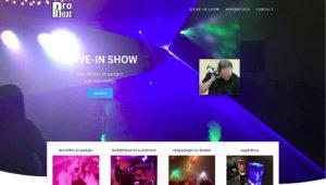 Nicole Pluim webdesign ProBeat.nl drive-in show