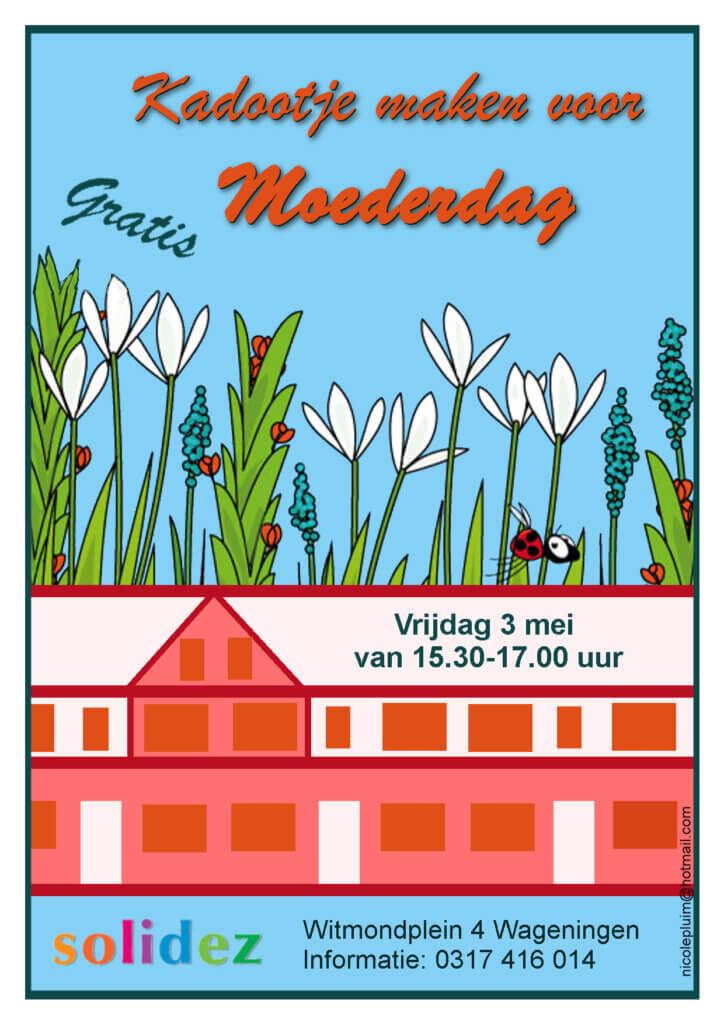 Solideze Moederdag Witmondplein Flyer door Nicole Pluim