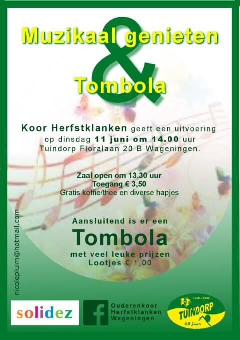 Solidez Muzikaal genieten bij Tuindorp