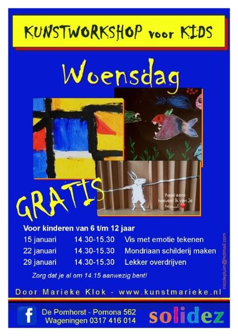 Solidez Kunst Marieke Flyer