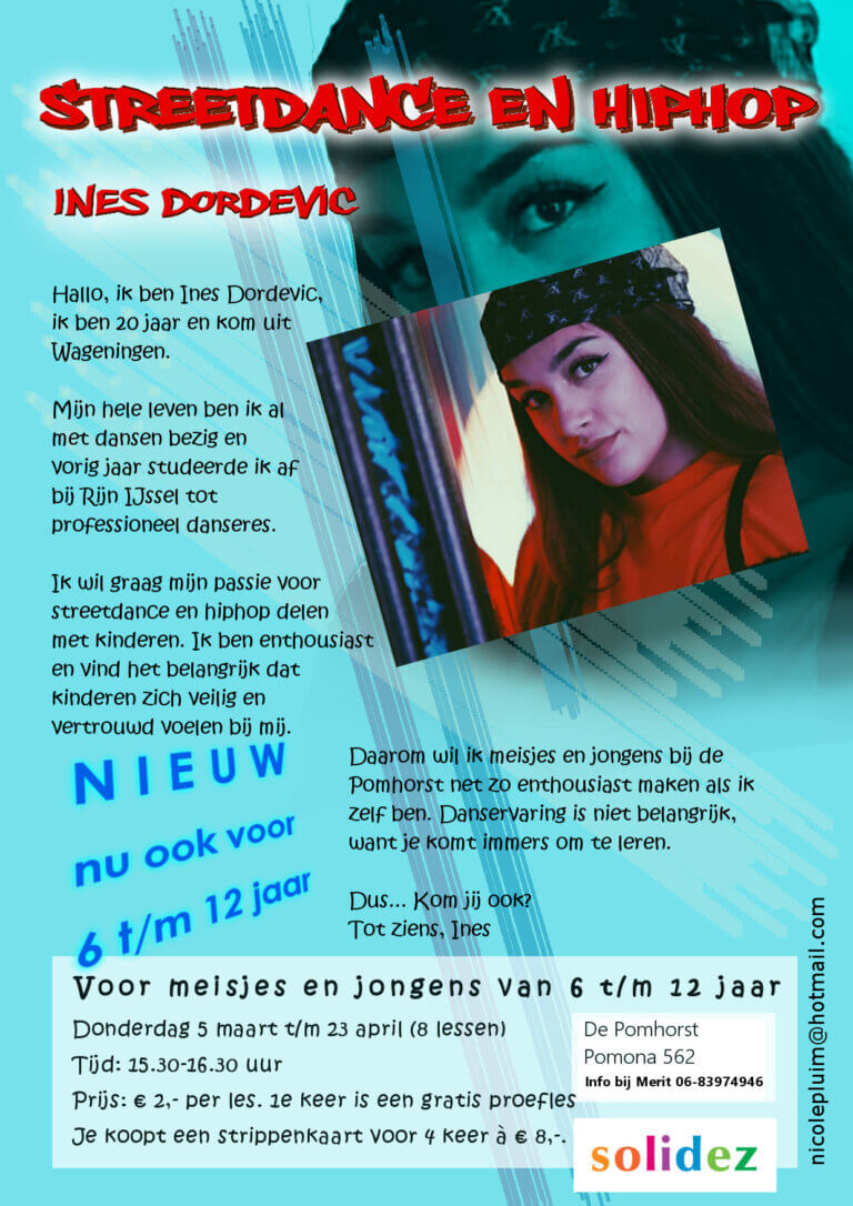 Solidez Streetdance Inez Flyer